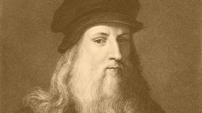 Leonardo da Vinci Marzipan